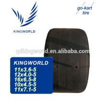 4 pr slick durable 11x6.0-5 karting tire for rental