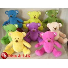 Meet EN71 and ASTM standard ICTI plush toy factory stuffed colorful bear
