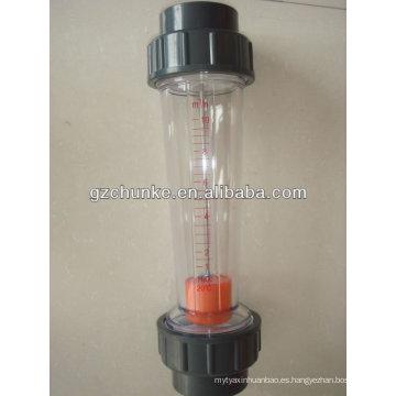 Medidor de flujo de agua de alta calidad para la planta de agua del sistema RO