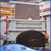 Valeur de vanne à porte en acier coulé haute pression personnalisée (USC10-017)