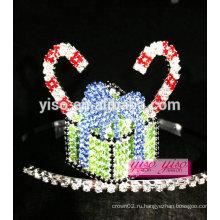 Дамские аксессуары для волос торт конфеты кристалл тиара