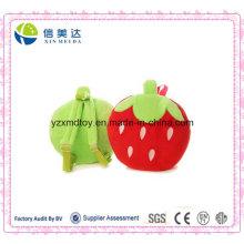 Gefüllte Strawberry Kinder Schultasche Soft Plüsch Spielzeug