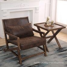 Siège de PU dinant la chaise en éponge meubles de salle à manger d'occasion à vendre