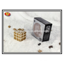 Mirror blocks cube bump cube magic square