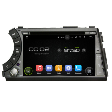 Android 7.1 Car DVD Player สำหรับกีฬา SsangYong Actyon