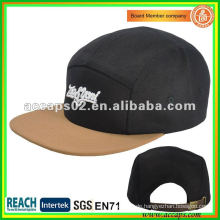 Neue Marke sticken Fanshion 5-Panel Hut NC0003