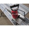 Machine de formage de rouleaux de panneau de toit permanent avec machine à courbure, machine à courber