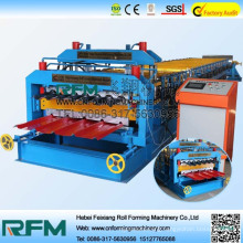 FX 840 900 double layer tiles machine