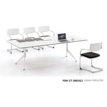 Einzigartiges Design White Board Room Tisch für Meeting (FOH-CT-SM2412)