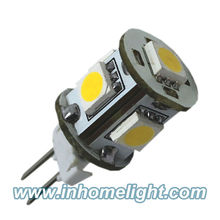 5050 SMD led G4 bulb G4 lights Warm White 12V DC