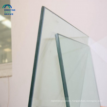 China supplier clear colour 10mm 12mm thick tempered glass price for buildings and selling