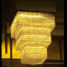 Kundengebundene große Kristallleuchter-Beleuchtung für Hotel, kundenspezifische Leuchter-Fabrik. Hochzeits-Raum-Leuchter