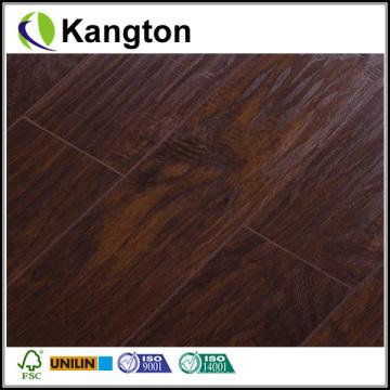 Melhor Preço Handscraped Laminate Flooring (piso laminado handscraped)