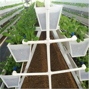 Canale di coltura idroponica in crescita Strawberry PVC Skyplant