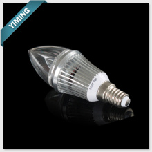 Luz de vela LED 3W aluminio regulable