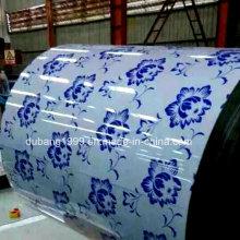 China Shandong PPGI/Prepainted aço bobina/contínuo da fábrica de linha de galvanização