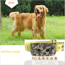 3G Pet GPS Tracker Dog System Collar