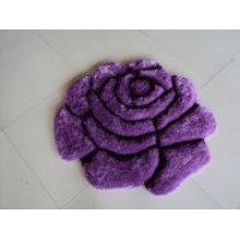 Purple Silk Rose Pattern Carpet Bomb