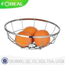 Cesta de frutas de fio de metal de alta demanda