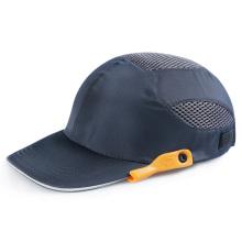 Custom Logo Safety Impact Resistant Breathable Light Weight Reflective Baseball Bump Cap