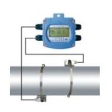 Débitmètre à ultrasons alimenté par batterie