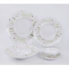 Fournisseur de porcelaine en porcelaine avec set decal