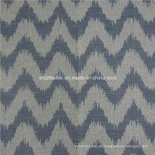 Lino caliente como el diseño de Jacquard de la tela de la cortina de la ventana de la tela suave