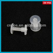 security plastic screw fastener for fitting with goods