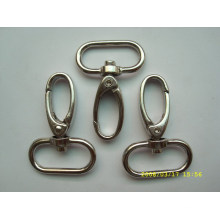 promotional custom stainless steel swivel snap hook for belt