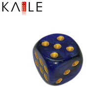 15mm Classic Custom Best Quality Golden Dots have Flowers Dice