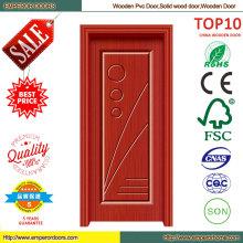 China mejor precio del MDF del PVC puerta