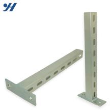 Suporte de apoio do feixe Unistrut do aço inoxidável da categoria SS304 da categoria 41 * 41