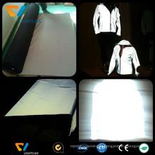 Matériel de gant réfléchissant de sécurité fluorescent personnalisé en gros avec EN471