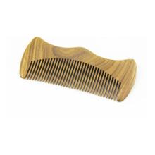 Peine de madera al por mayor directo del pelo del bigote de la fábrica