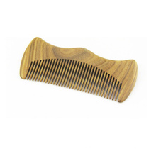 Peigne à cheveux en bois de moustache en gros direct usine
