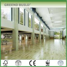 Holzboden für die Sporthalle Shcool