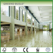 Wooden flooring for shcool sports hall