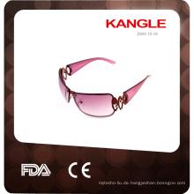 2017 benutzerdefinierte geformte Sonnenbrille aus Kunststoff