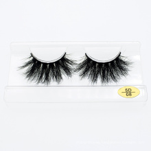 Wholesale Custom Logo Packing Box 25mm Lashes 5D 3D Real Mink Fur Luxury Eyelashes
