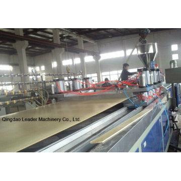 Panneau de construction de machine de panneau de mousse de WPC