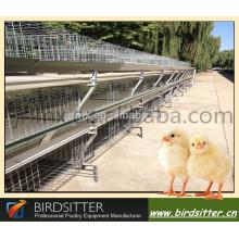 Jaula automática para el cultivo de pollos de engorde