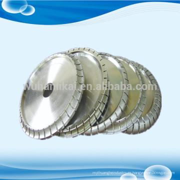 Rectificadora de piedra de rueda de perfilado de diamante directamente electrodepositada de fábrica