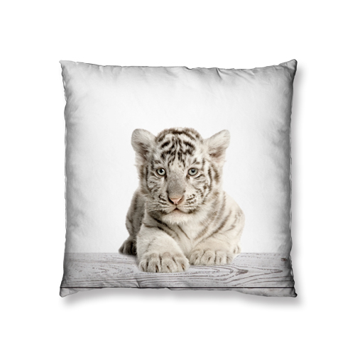 baby tiger design cushion