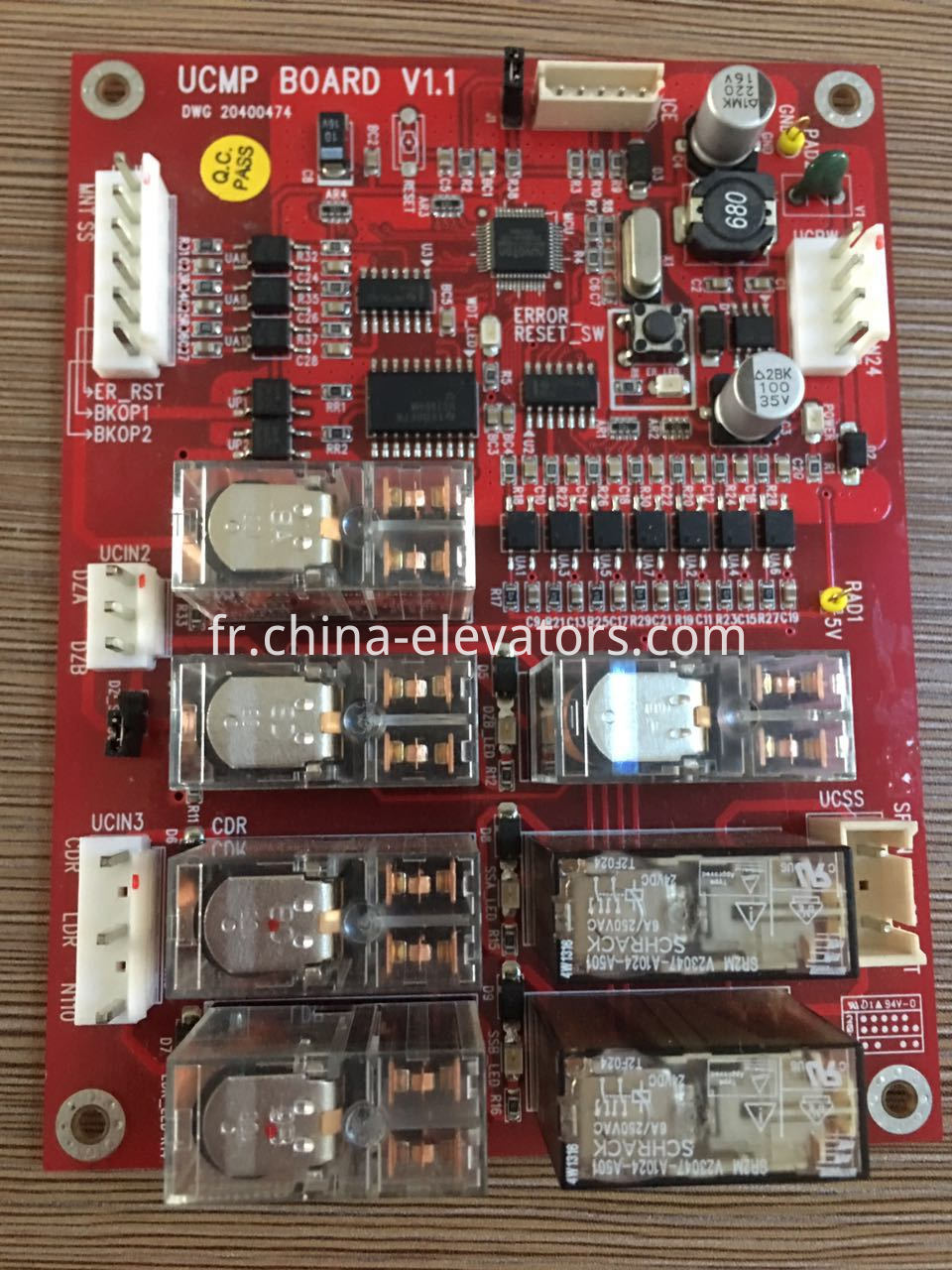 UCMP Board for Hyundai Elevators, DWG 20400474