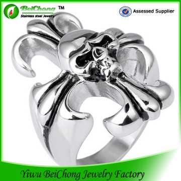 Acier inoxydable coulée le Expendables Skull Ring