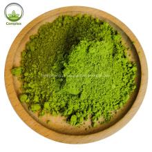 Chá em pó orgânico de alta qualidade com matcha verde