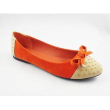 Neue Stil Frauen Kleid flache Schuhe (HCY03-125)