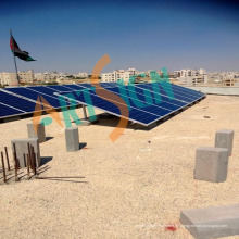 Solarhalterung für Beton Flachdach