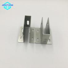 fabricação de aço inoxidável com dobra e perfuração