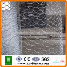 Galvanizado Rede de arame Hexagonal / malha de arame Hexagonal / malha de arame de galinha (ISO9001: fabricante 2008 profissional)
